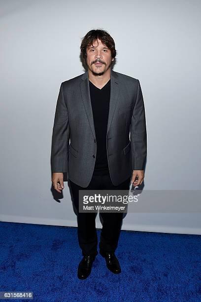 2017 Actor Sergio PerisMencheta arrives at the Winter TCA Tour FX Starwalk at Langham Hotel on January 12 2017 in Pasadena California