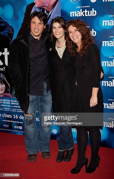 Actor Sergio PerisMencheta attends 'Maktub' Premiere in Capitol Cinema on December 15 2011 in Madrid Spain