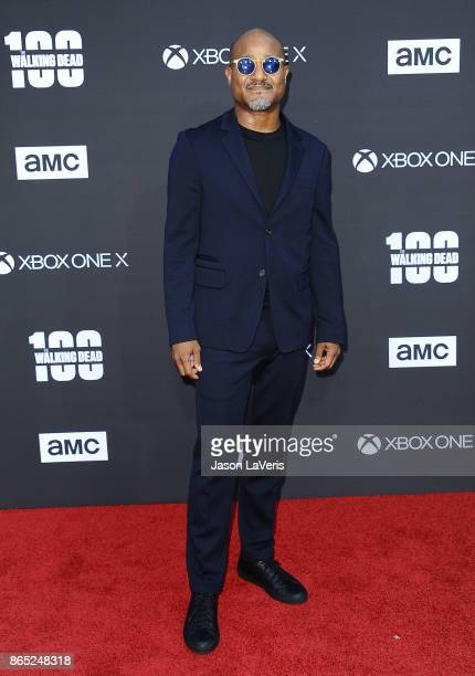 Actor Seth Gilliam attends the 100th episode celebration off 'The Walking Dead' at The Greek Theatre on October 22 2017 in Los Angeles California