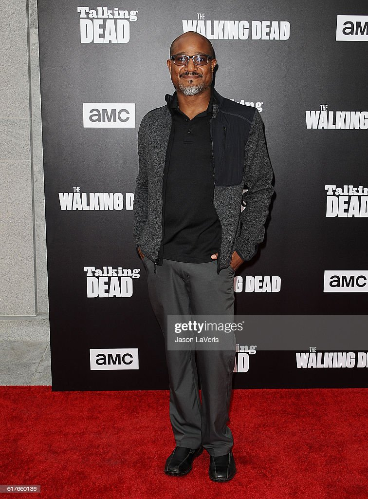 Actor Seth Gilliam attends the live, 90-minute special edition of 'Talking Dead' at Hollywood Forever on October 23, 2016 in Hollywood, California.