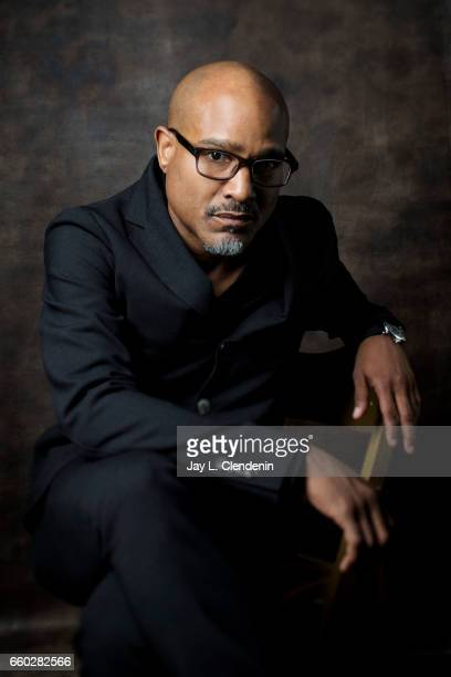 Actor Seth Gilliam from AMC's 'The Walking Dead is photographed during Paley Fest for Los Angeles Times on March 17 2017 in Los Angeles California...