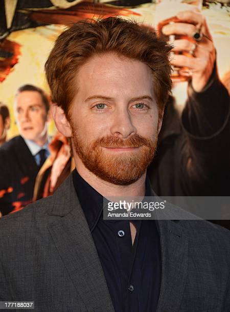 """Actor Seth Green arrives at the Los Angeles premiere of """"The World's End"""" at ArcLight Cinemas Cinerama Dome on August 21, 2013 in Hollywood,..."""