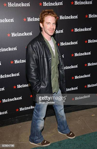 Actor Seth Green arrives to the UpFront Week Closing Night Party hosted by Wilmer Valderrama Heineken May 19 2005 in New York City