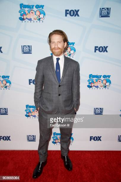 Actor Seth Green attends Fox Celebrates 300th Episode Of 'Family Guy' at Cicada on January 10 2018 in Los Angeles California
