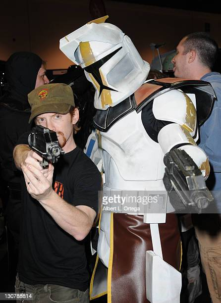 Actor Seth Green attends the 2011 Long Beach Comic Con held at the Long Beach Convention Center on October 29 2011 in Long Beach California