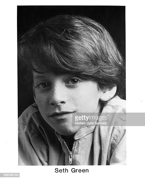 Actor Seth Green poses for a portrait in circa 1988