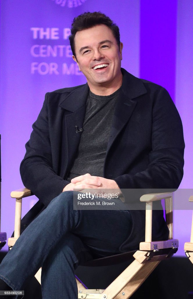 Actor Seth MacFarlane of the television show 'The Orville' speaks during The Paley Center for Media's 35th Annual PaleyFest Los Angeles at the Dolby Theatre on March 17, 2018 in Hollywood, California.