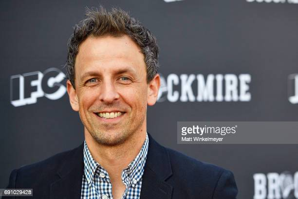 Actor Seth Meyers arrives at the FYC event for IFC's 'Brockmire' and Documentary Now' at Saban Media Center on May 31 2017 in North Hollywood...