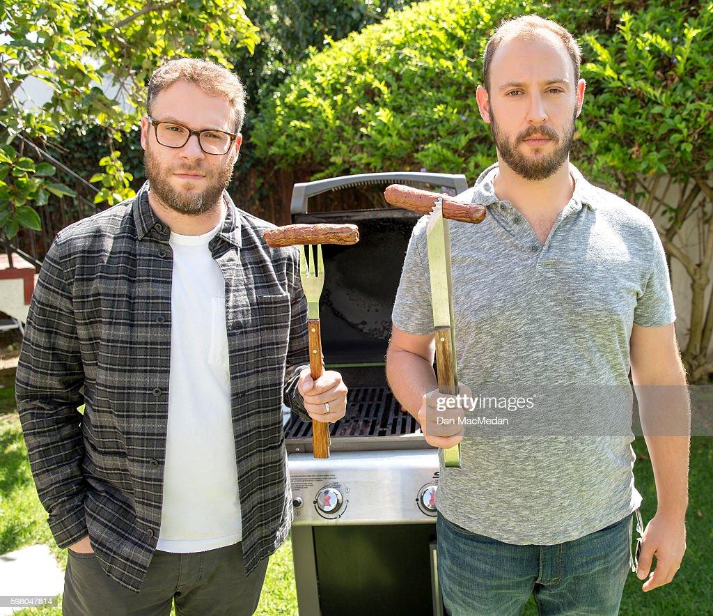 Seth Rogen and Evan Goldberg, USA Today, August 12, 2016