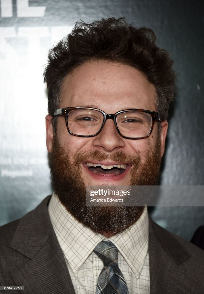 Actor Seth Rogen arrives at the AFI FEST 2017 Presented By Audi - screening of 'The Disaster Artist' at the TCL Chinese Theatre on November 12, 2017 in Hollywood, California.