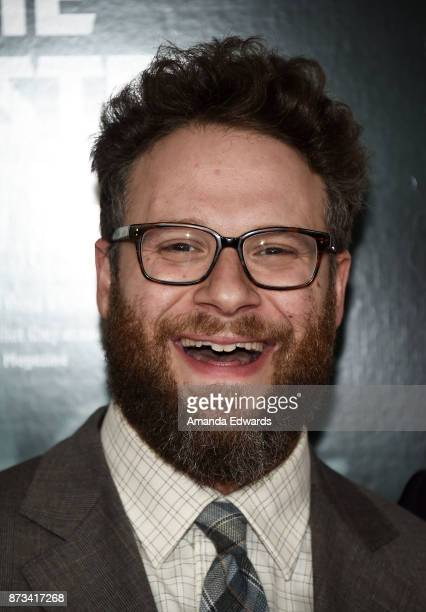 Actor Seth Rogen arrives at the AFI FEST 2017 Presented By Audi screening of 'The Disaster Artist' at the TCL Chinese Theatre on November 12 2017 in...