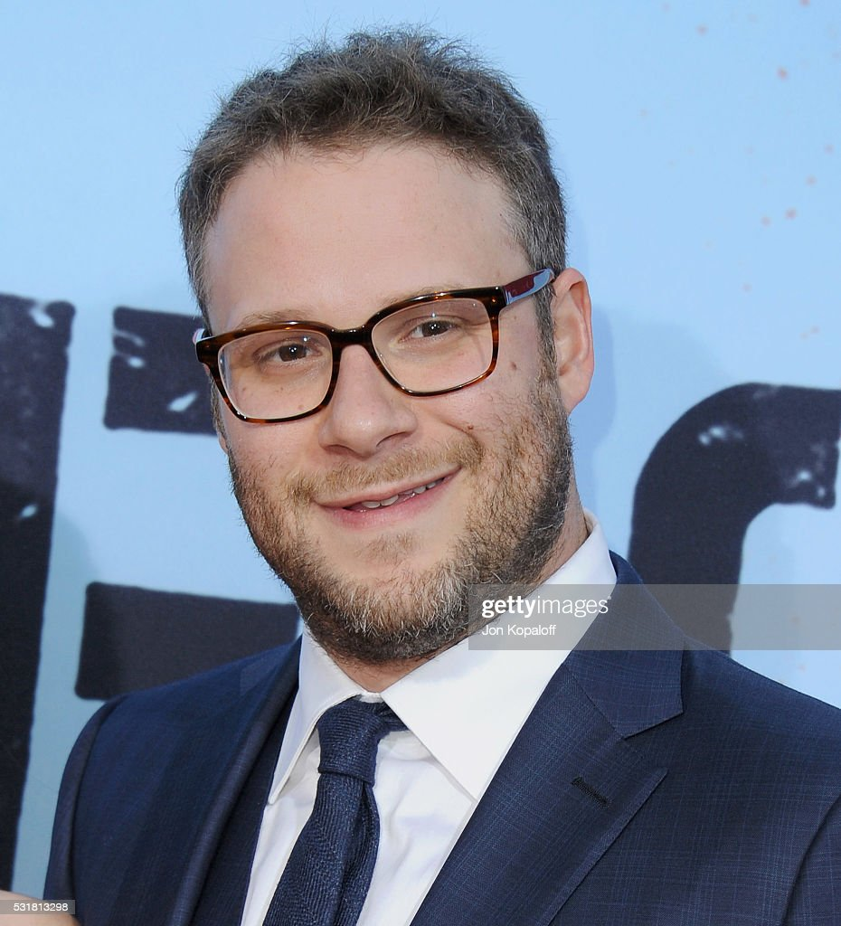 Actor Seth Rogen arrives at the Los Angeles Premiere 'Neighbors 2: Sorority Rising' at Regency Village Theatre on May 16, 2016 in Los Angeles, California.