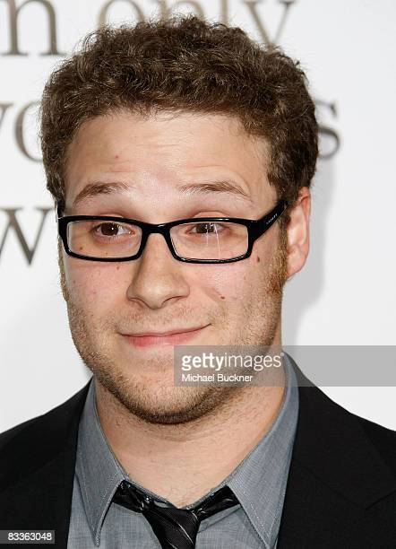 Actor Seth Rogen arrives at the premiere of Weinstein Company's Zack and Mira Make A Porno at Grauman's Chinese Theater on October 20 2008 in Los...