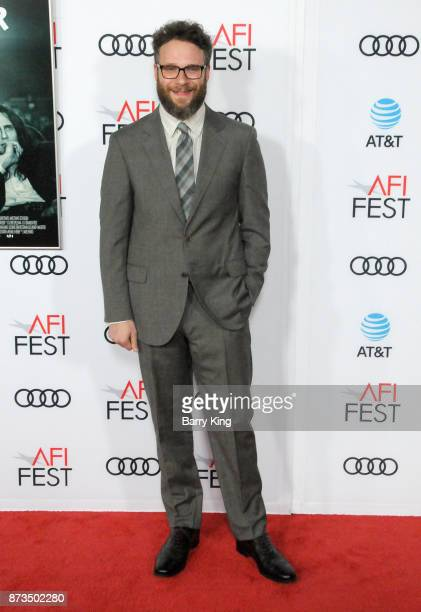 Actor Seth Rogen attends AFI FEST 2017 Presented By Audi Screening Of 'The Disaster Artist' at TCL Chinese Theatre on November 12 2017 in Hollywood...