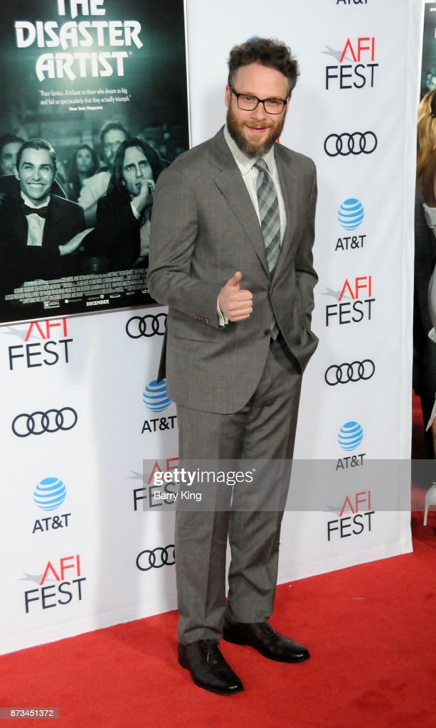 Actor Seth Rogen attends AFI FEST 2017 presented by Audi xcreening of 'The Disaster Artist' at TCL Chinese Theatre on November 12, 2017 in Hollywood, California.