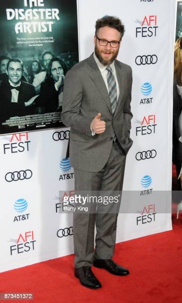 Actor Seth Rogen attends AFI FEST 2017 presented by Audi xcreening of 'The Disaster Artist' at TCL Chinese Theatre on November 12 2017 in Hollywood...