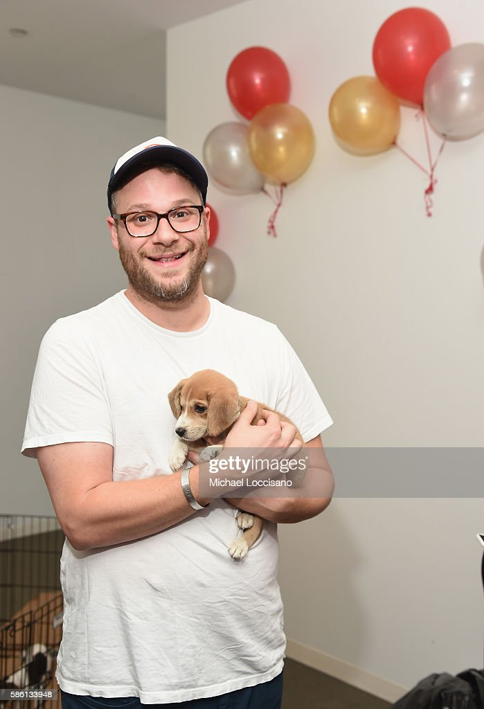 Actor Seth Rogen attends Elvis Duran's Birthday during 'The Elvis Duran Z100 Morning Show' at Z100 Studio on August 5, 2016 in New York City.