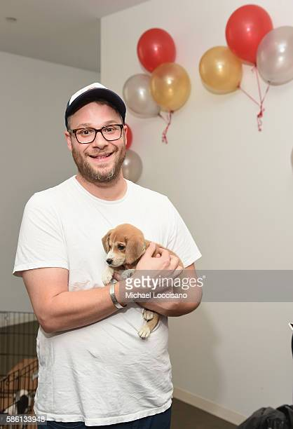 Actor Seth Rogen attends Elvis Duran's Birthday during 'The Elvis Duran Z100 Morning Show' at Z100 Studio on August 5 2016 in New York City