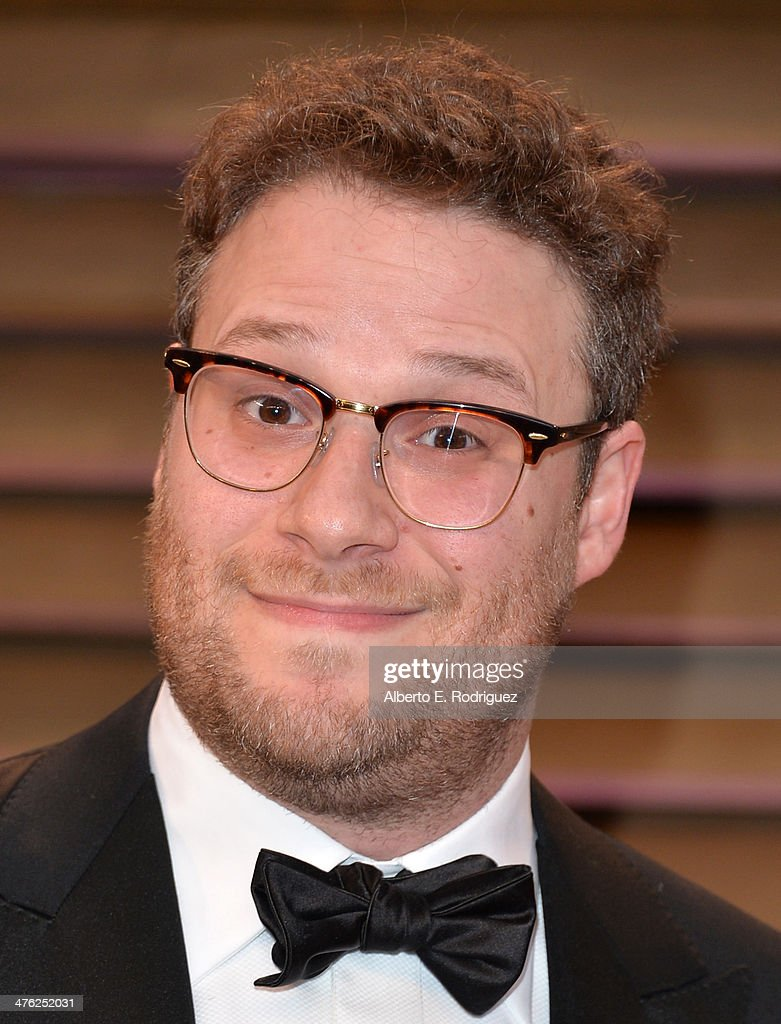 Actor Seth Rogen attends the 2014 Vanity Fair Oscar Party hosted by Graydon Carter on March 2, 2014 in West Hollywood, California.