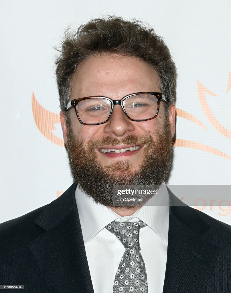 Actor Seth Rogen attends the 2017 A Funny Thing Happened on the Way to Cure Parkinson's event at the Hilton New York on November 11, 2017 in New York City.
