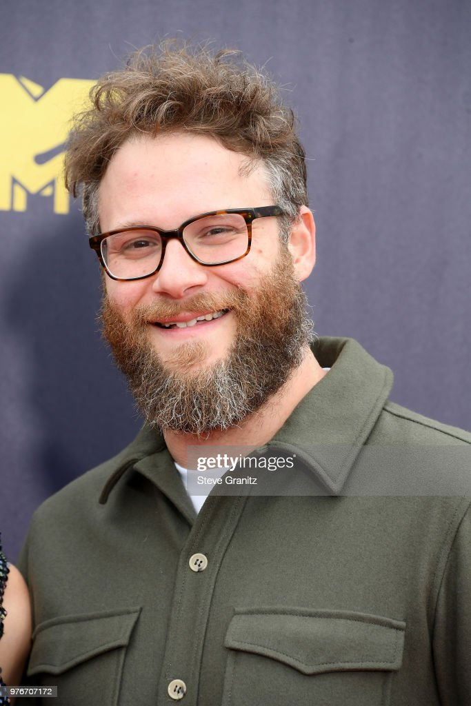 Actor Seth Rogen attends the 2018 MTV Movie And TV Awards at Barker Hangar on June 16, 2018 in Santa Monica, California.