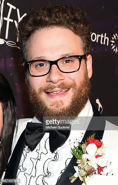Actor Seth Rogen attends the 3rd Annual Hilarity for Charity Variety Show to benefit the Alzheimer's Association presented by Genworth at Hollywood...
