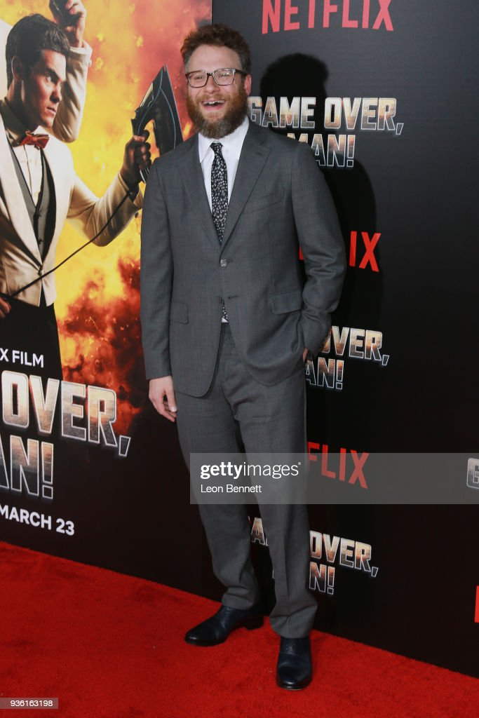 "Premiere Of Netflix's ""Game Over, Man!"" - Arrivals"