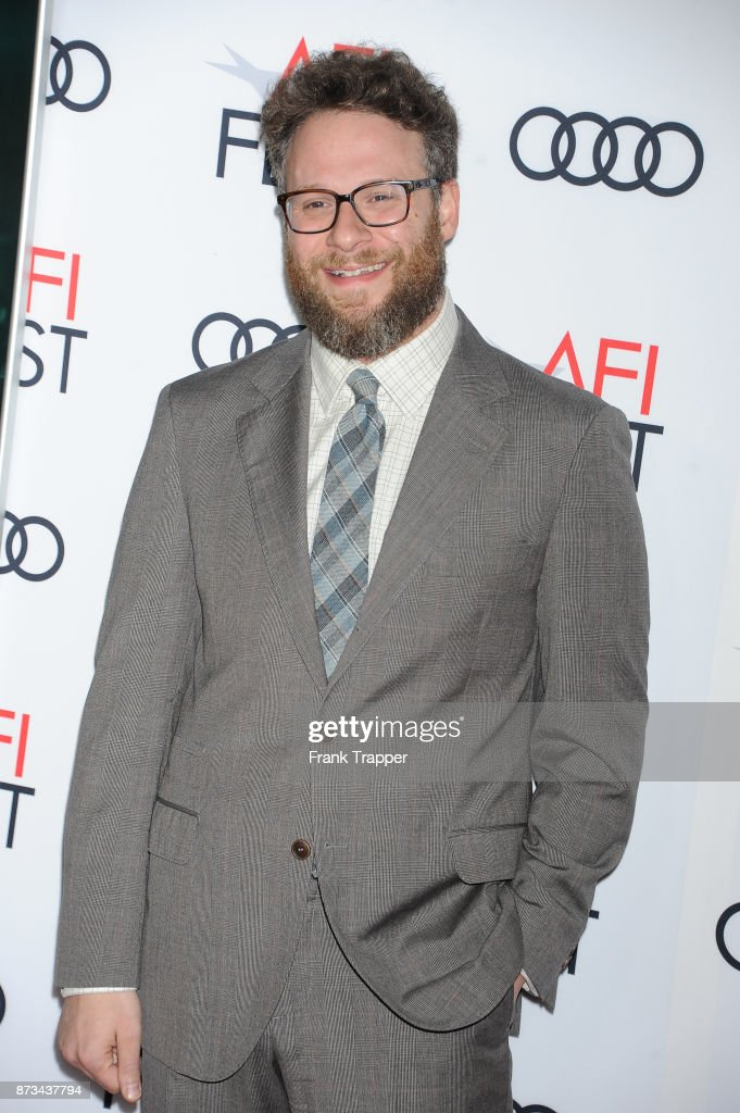 Actor Seth Rogen attends the screening of 'The Disaster Artist ' at AFI FEST 2017 presented by Audi at TCL Chinese Theatre on November 12, 2017 in Hollywood, California.
