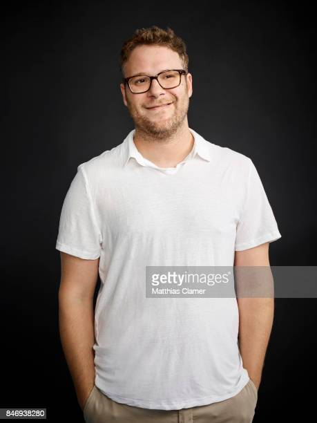 Actor Seth Rogen from 'Sausage Party' is photographed for Entertainment Weekly Magazine on July 21, 2016 at Comic Con in the Hard Rock Hotel in San...