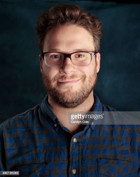 Actor Seth Rogen is photographed for Los Angeles Times on May 2 2014 in New York City PUBLISHED IMAGE CREDIT MUST BE Carolyn Cole/Los Angeles...