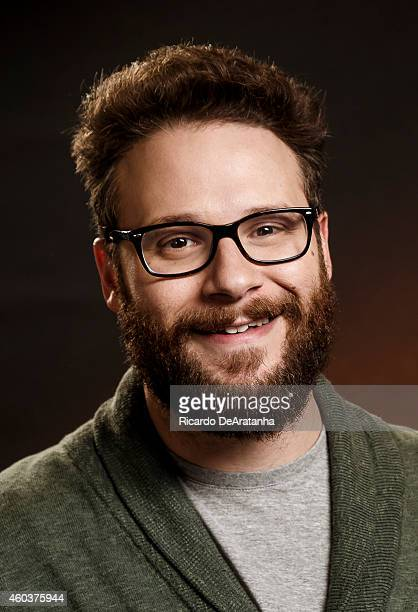 Actor Seth Rogen is photographed for Los Angeles Times on November 25 2014 in Beverly Hills California PUBLISHED IMAGE CREDIT MUST READ Ricardo...