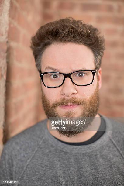 Actor Seth Rogen is photographed for USA Today on December 15 2014 in New York City