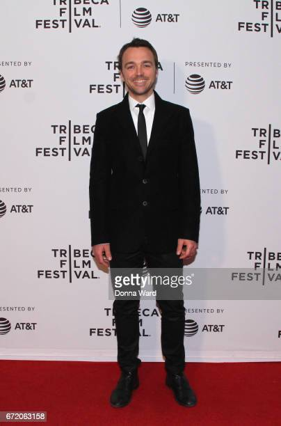 Actor Seumas Sargent attends Tom of Finland Premiere during the 2017 Tribeca Film Festivalat Cinepolis Chelsea on April 23 2017 in New York City