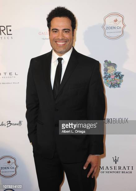 Actor Sevier Crespo attends the Amare's Second Year Anniversary 'Believe Issue' Party held at Sofitel Los Angeles At Beverly Hills on December 13...