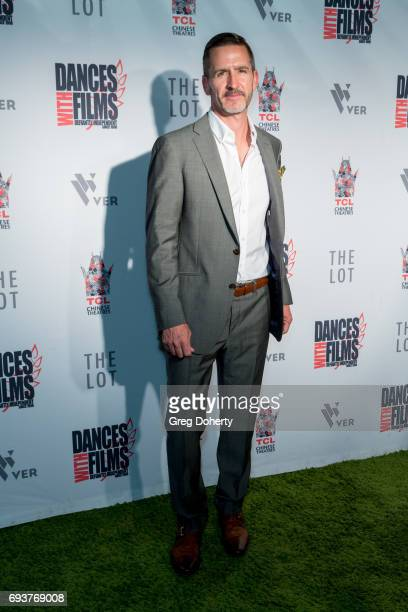 Actor Shad Adair attends the Landing Up World Premiere during 20th Annual Dances With Films at TCL Chinese 6 Theatres on June 7 2017 in Hollywood...