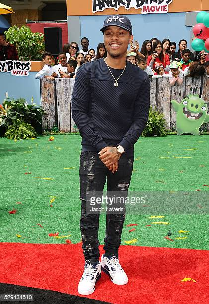 Actor Shad Moss aka Bow Wow attends the premiere of 'Angry Birds' at Regency Village Theatre on May 7 2016 in Westwood California