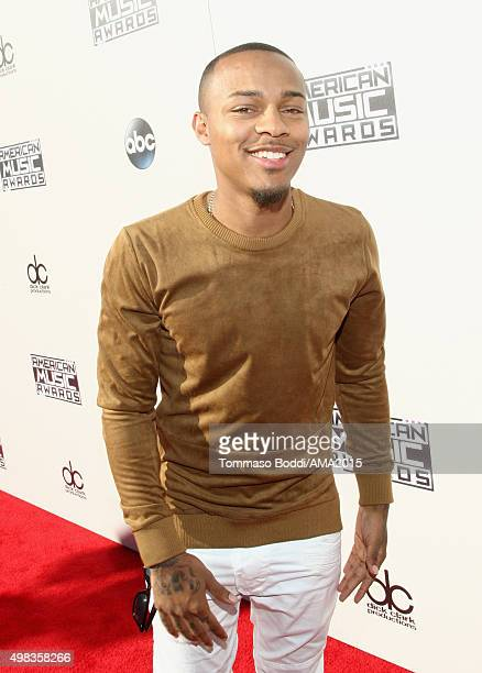 Actor Shad Moss attends the 2015 American Music Awards at Microsoft Theater on November 22 2015 in Los Angeles California
