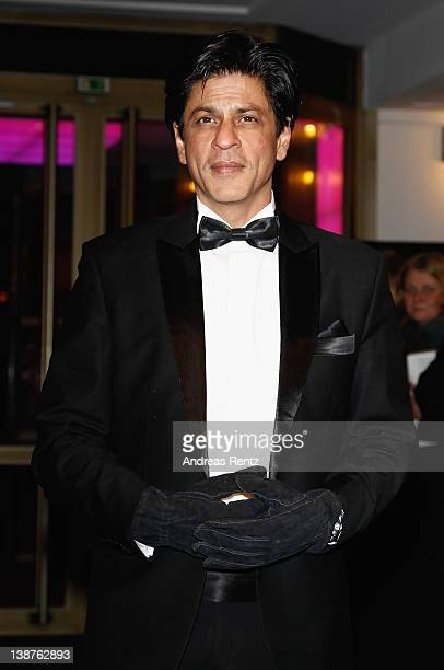 Actor Shah Rukh Khan attends the 'Don The King Is Back' Premiere during day three of the 62nd Berlin International Film Festival at the...