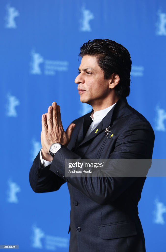 60th Berlin Film Festival - My Name Is Khan - Photocall : News Photo