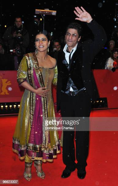 Actor Shah Rukh Khan attends the 'My Name Is Khan' Premiere during day two of the 60th Berlin International Film Festival at the Berlinale Palast on...