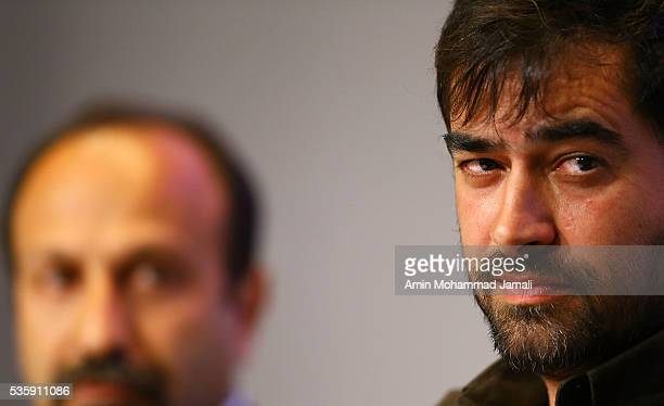 "Actor Shahab Hosseini, winner of the award for best actor for the movie ""The Salesman"" during 2016 Canne Film festival, attends the press Conference..."