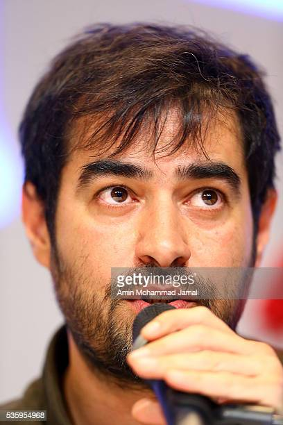 Actor Shahab Hosseini, winner of the award for best actor for the movie The Salesman in 2016 Canne Film festival attend the press Conference on May...
