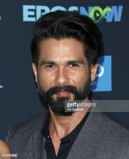 Actor Shahid Kapoor attends the 2017 International Indian Film Academy Festival at MetLife Stadium on July 14 2017 in East Rutherford New Jersey