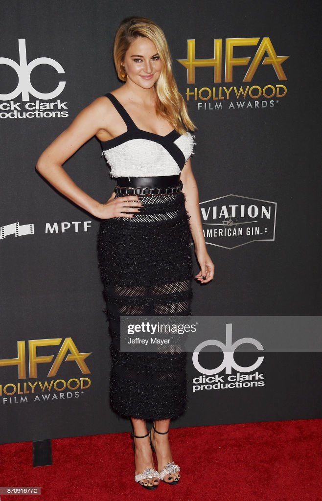 Actor Shailene Woodley attends the 21st Annual Hollywood Film Awards at The Beverly Hilton Hotel on November 5, 2017 in Beverly Hills, California.