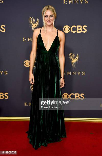 Actor Shailene Woodley attends the 69th Annual Primetime Emmy Awards at Microsoft Theater on September 17, 2017 in Los Angeles, California.