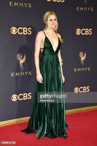 Actor Shailene Woodley attends the 69th Annual Primetime Emmy Awards at Microsoft Theater on September 17 2017 in Los Angeles California