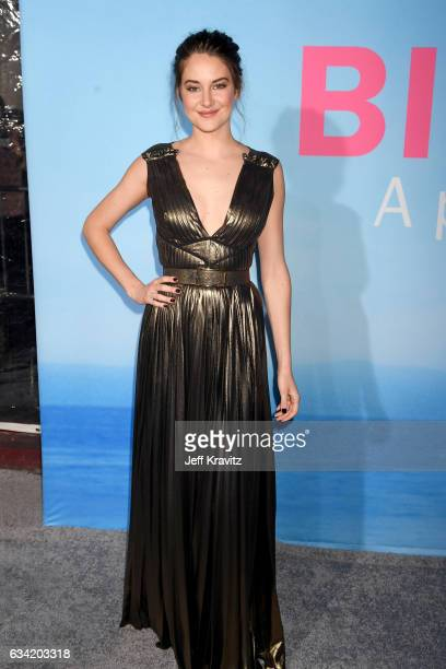 Actor Shailene Woodley attends the premiere of HBO's 'Big Little Lies' at the TCL Chinese Theater on February 7, 2017 in Hollywood, California.