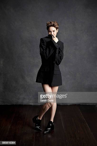 Actor Shailene Woodley is photographed for Empire magazine on November 5 2013 in London England