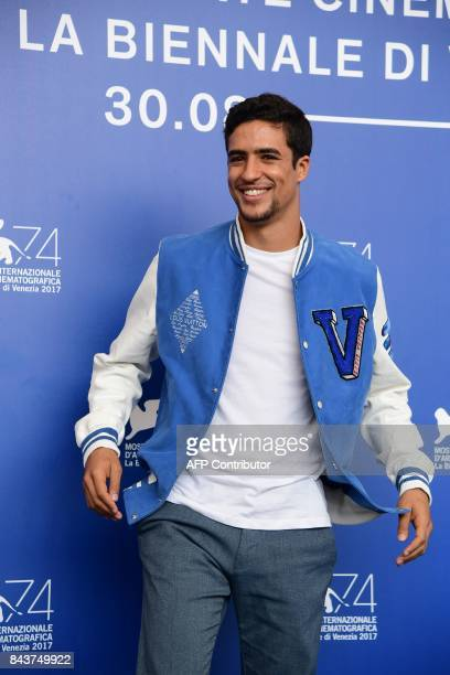 Actor Shain Boumedine attends the photocall of the movie 'Mektoub My Love canto uno' presented in competition at the 74th Venice Film Festival on...