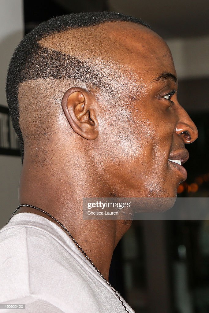 Actor Shaka Smith arrives at the 'Free The Nipple' fundraiser at SkyBar at the Mondrian Los Angeles on June 19, 2014 in West Hollywood, California.